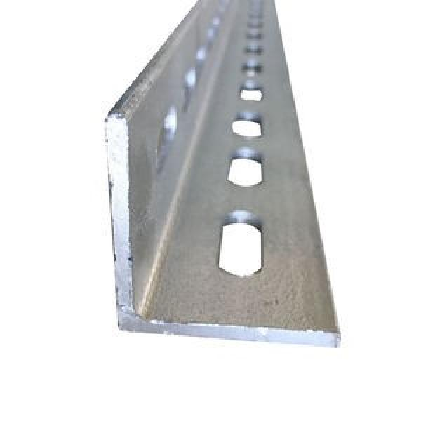 Hot Dipped Galvanized Mild Steel Angle with Holes #1 image