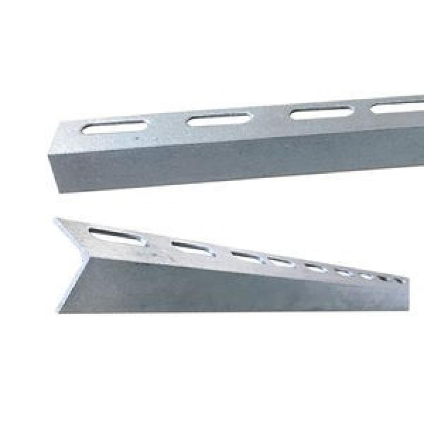 Ms ASTM A572 Gr60 Gr50 Galvanized Perforated Angle Steel Bar A36 Slotted L Shape Steel Bar #1 image