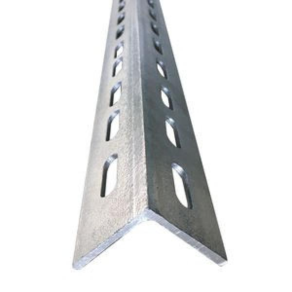 BS En S355jr S355j0 Galvanized Slotted Ms Angle Steel Perforated L Shaped Steel #1 image